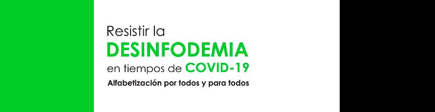 Académicos, periodistas y expertos reflexionarán sobre la desinfodemia en tiempo de COVID-19