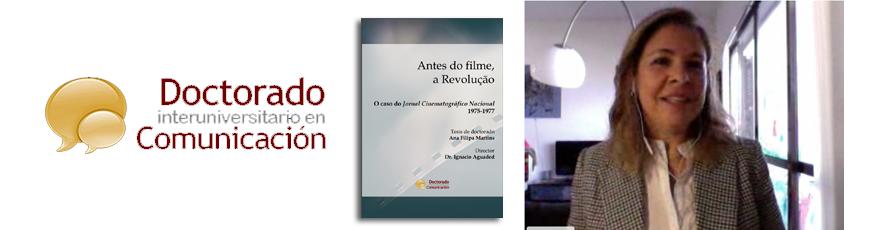 Tesis doctoral: Antes do filme, a revolução: o caso do jornal cinematográfico nacional (1975-1977)